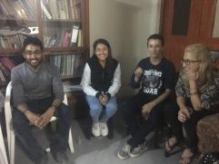 Vivek and Family